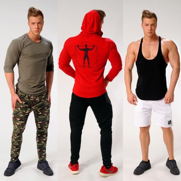 MUSCLE RANGER CAPTAIN FITNESS FULL ZIP HOODIE SWEATSHIRT  7