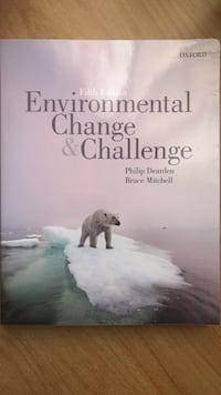 Environmental change and challenge for 1st year (Ryerson) Applied Ecology