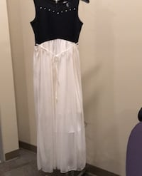 Black and white Dress size 16 young girl Columbia, 21046