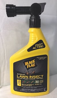 BLACK FLAG EXTREME Lawn Insect Killer Plus Fungus Control Fast Acting 32oz