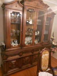 Dining room hutch cabinet