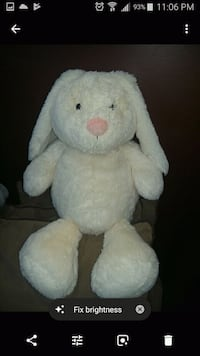 white and blue bear plush toy Vancouver, V5X 1N3