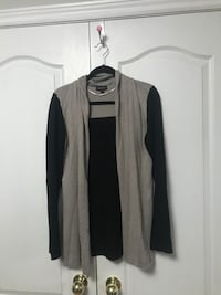 Black and Taupe Sweater Vaughan
