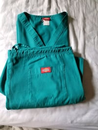 A set of uniforms size large