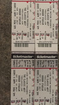 The classic West 2Day tickets (2)