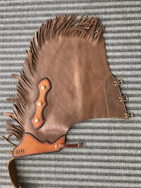 Leather chaps - Size: M Neptune Beach, 32266
