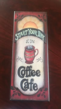 cute coffee sign Cary, 60013