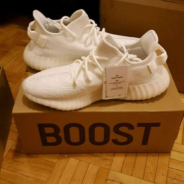 d9003716d11 Used ADIDAS Yeezy Boost 350 Triple White size 9 for sale in Ottawa - letgo
