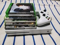 Xbox One console with controller and game cases McLean, 22101