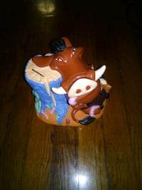 The Lion King Timon and Pumbaa Piggy Bank