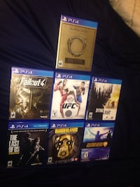 7 PS4 Games $15 Each