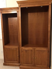 Display/ Book shelving 3 piece set . Shelves not shown in picture . All 3 pieces have lighting and storage Modesto, 95355