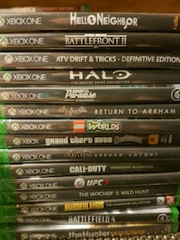 Xbox one games brand new 20 bucks each Niagara Falls, L2G 2M2