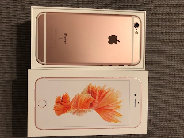 IPhone s6 Roségold