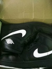 black-and-white Nike running shoes Tallahassee