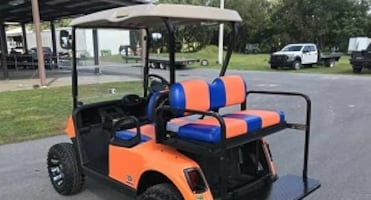 Electric Golf Cart with great facilities! Still available!