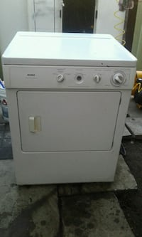 white front-load clothes dryer Calgary, T2A 2G7