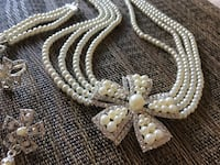 Pearl necklace set Mc Lean, 22102