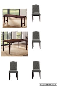 Dining set (4 chairs , table , 1 bench)  Fort Worth, 76118