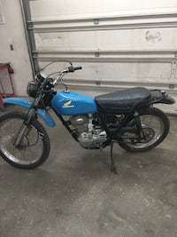 used 1976 honda xl 175 motorcycle for sale in colorado springs letgo. Black Bedroom Furniture Sets. Home Design Ideas
