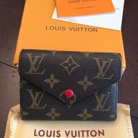 New LV wallet, dust bag, and box (red) Sunnyvale, 94089