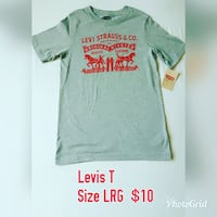 green Levi Strauss & co. shirt Mississauga, L4Y 2W9