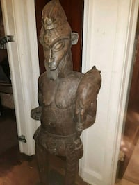 "Vintage handcrafted African warrior 51"" Baltimore, 21206"