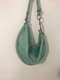 Fossil teal leather sling bag Montréal, H3W 1K5