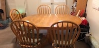 Dining table with 5 chairs  Honolulu, 96815