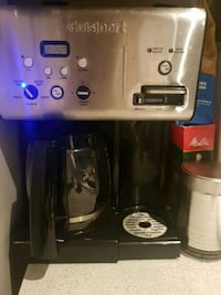2 in 1 coffee maker and hot water dispenser