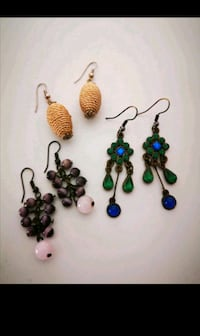 Earrings lot $5 for 10