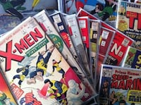 Boxes of 80s & 90s Comic Books & Graphic Novels null