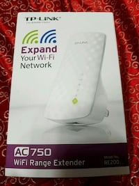 white TP-Link wireless router box Lakeland