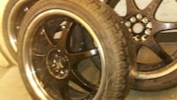 "RUNFLAT TIRES - 5 spoke aftermarket 18"" rims   Montgomery Village, 20886"