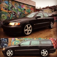 2004 Volvo V70 AWD 2.5 Turbo - Nice mods, needs power steering fixed. Trades? Toronto, M6J 1W6