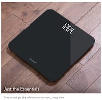 Digital Body Weight Bathroom Scale from GreaterGoods (Black) Fontana, 92336