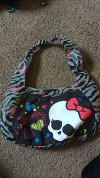 black, white, and pink Minnie Mouse backpack Rock Hill, 29732