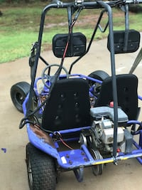 2 Seat Go Cart,purple blue with roll Bars, will trade see below or OBO
