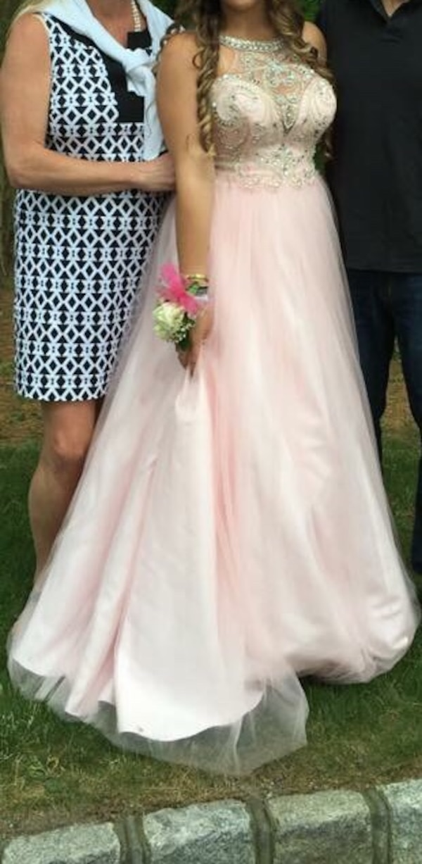Used Soft Pink Prom Dress For Sale In Centerport Letgo