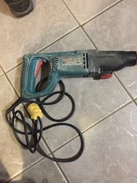 Blue and black bosch corded hand drill Kelowna, V1Y 6E2