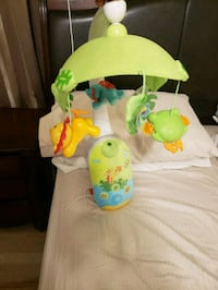 Fisher Price crib mobile for baby Toronto