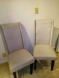 2 High Back Chairs Sterling, 20164