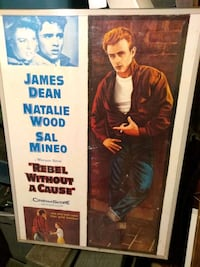Rebel  Without a Cause Poster Bangor, 04401