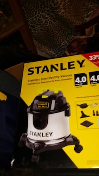 Stanley stianless steel wet/dry vacuum box