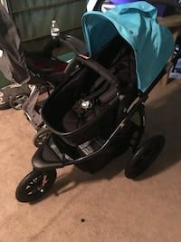 baby's black and teal jogging stroller Washington, 20019
