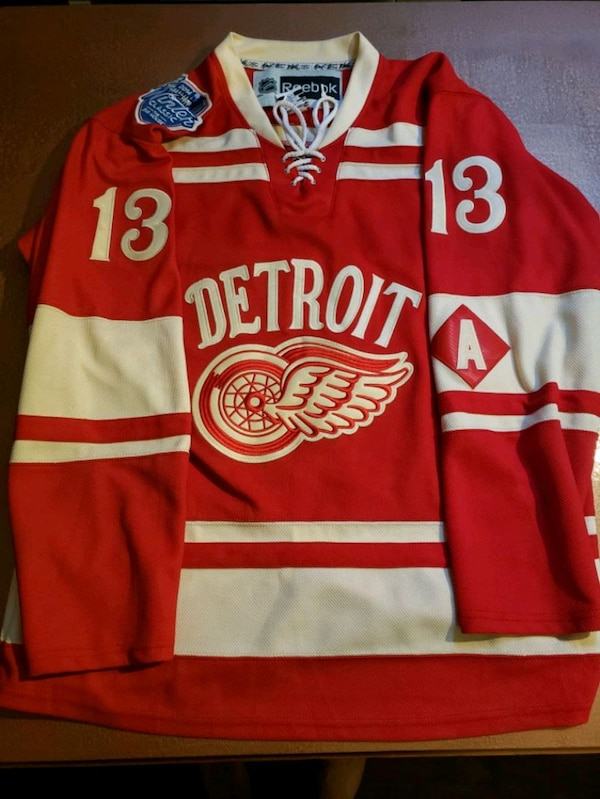 low priced 29fab c3a52 2014 NHL Winter Classic Detroit Red Wings Jersey