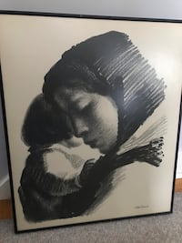 Art -mother and child print Scotia, 12302