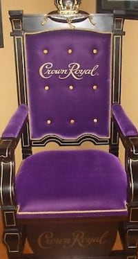 purple and black rolling armchair Houston, 77396