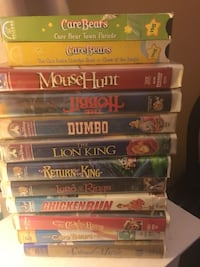 assorted DVD movie case lot Boonville, 47601