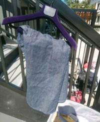 black and purple folding chair Vancouver, V6B 1T9